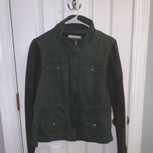 """army green """"Utility styled"""" jacket!"""